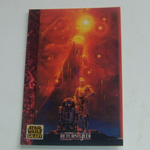 Star Wars Galaxy 1993 Topps #74 Art of Star Wars Return of the Jedi Trading card